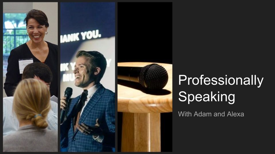 Professionally Speaking