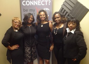 Pamela Hogan, Sharon Spicer-Evans, Angel Nowlin, Dr. Heavenly Kimes, Beverly Shepard