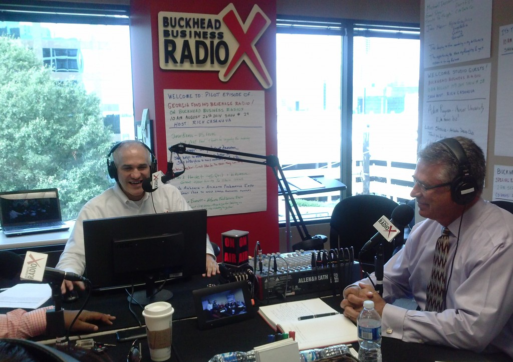 Buckhead Business Radio 09-09-14 On-Air 2