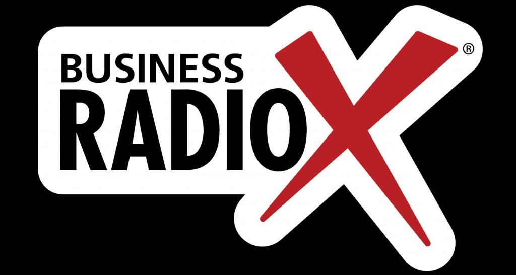 BRX logo white brdr R