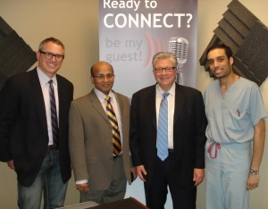 "Charles ""CW"" Hall, Dr. Uthan Vivek, Dr. Andrew Pugliese, Dr. Shamir Bhikha"