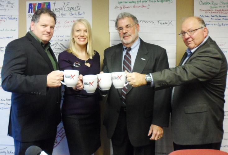 Mike Moske, Emily Rowell (Host), Cary King, & John Jupin