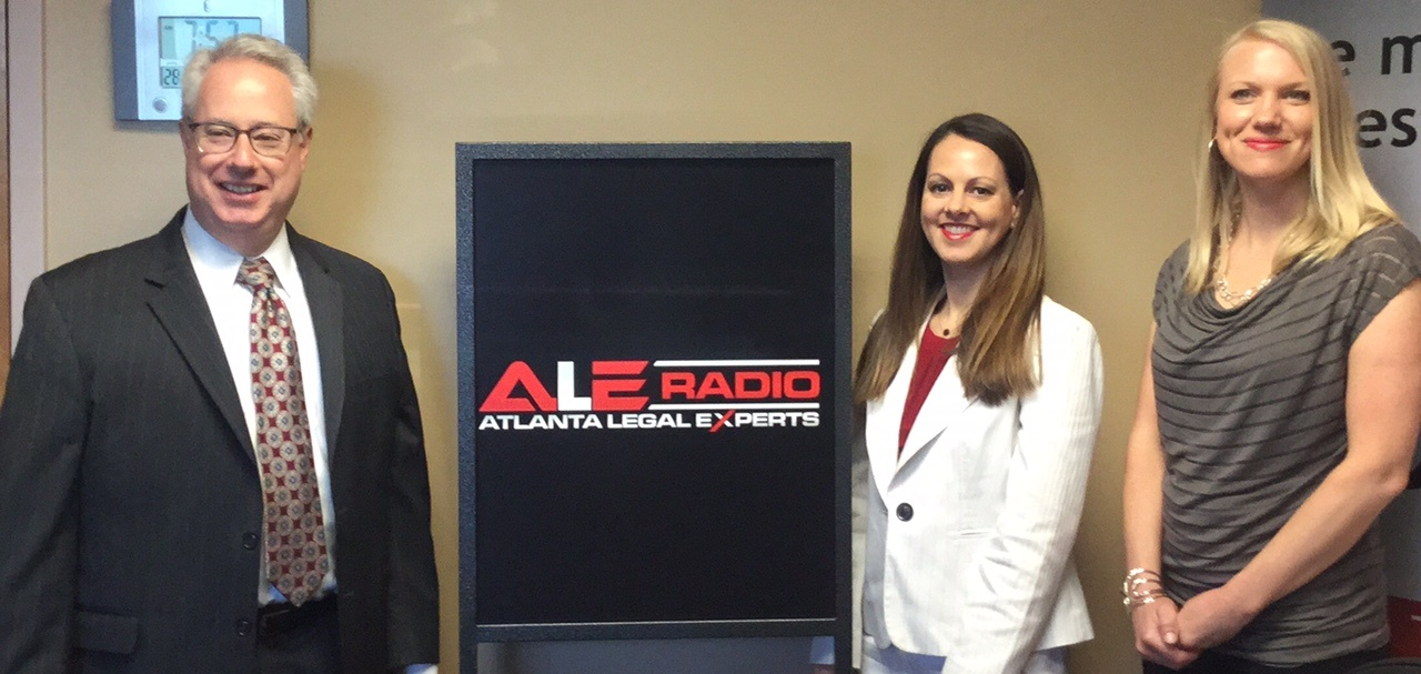 Attorney General Sam Olens, Ashley Holland, & Emily Rowell (Host)