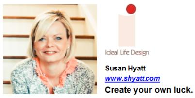 Susan Hyatt: Create Your Own Luck