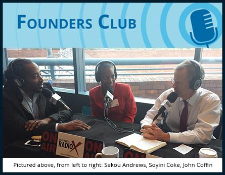 Sekou Andrews on Founders Club
