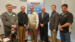 John Ray, Mike Becker, Herb Hoffman, Nick Zuchegno, Larry Howard, Mike Sammond