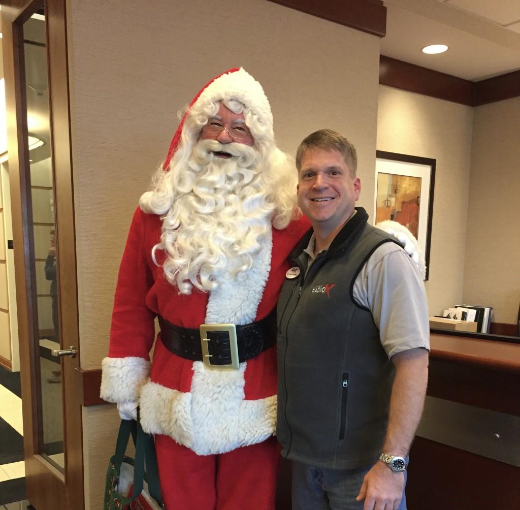 Santa David and Ryan Redhawk