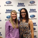 Holly and Nicole at Subaru of Gwinnett Studio