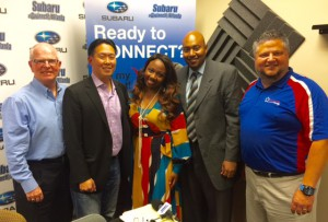 Johnny Phelps, A.C. Chan, Courtney Spencer, Sterling Porter, Doug Ireland