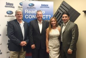 Michael Auten, Randy Bernard, Theresa Madonia, Mike Sammond