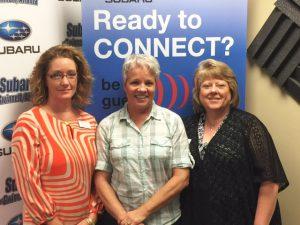 Kim Phillips, Vicki LaRoche, Lynn Robinette