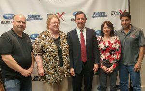 Barbara Kvam with LegalShield, Jeff Tormey with SEO Guru Atlanta and Sheryl Dornblaser with Priscilla's Cottage Alzheimer's Day Care - Business RadioX -