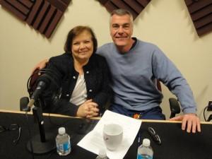 Tanya Mack and Dr. Jeffery Hoadley