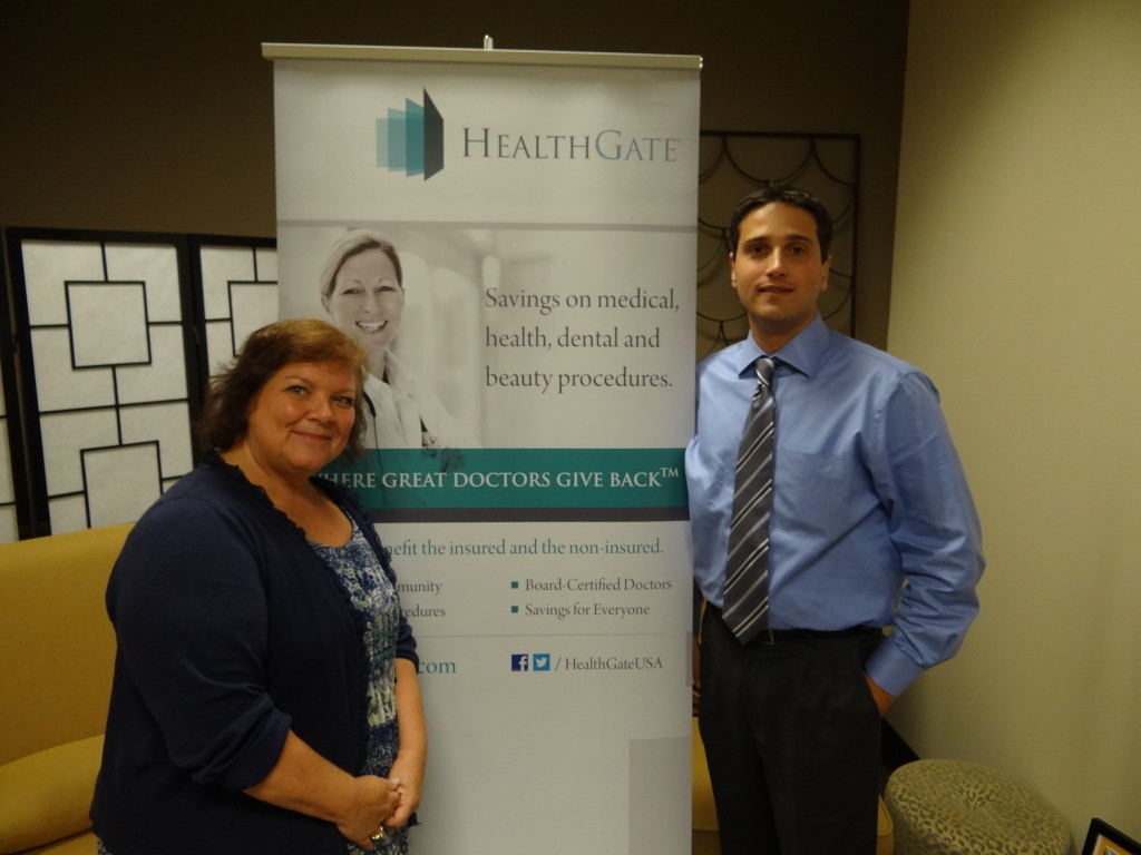 Tanya Mack, Host and Dr. Jason Reingold, Cardiologist and Guest