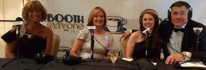 Lisa McVey. Patti Dismukes, Denise Adamson in Booth 61 at the 2016 Digital Ball 5 09 2016