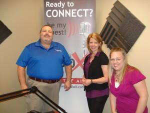 Randy Hicks, Melissa Cammack, Dr. Lauren Millman
