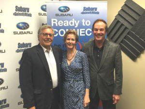 Dominick Rainey, Carey Sipp, Dr. Bill Lampton
